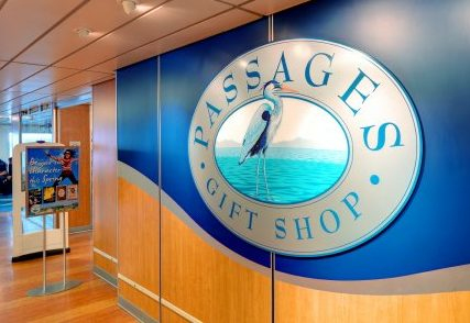 Passages gift shop on BC Ferries